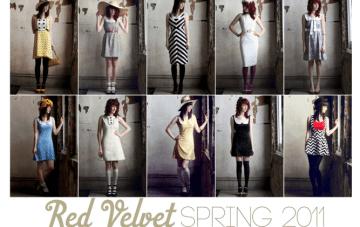 Red Velvet Shop-Elsie's New Line of 60s Inspired Dresses {Random}