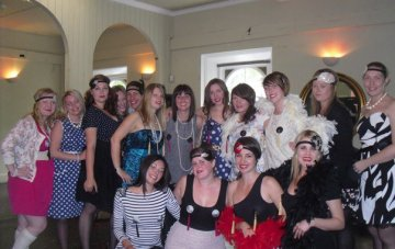 My Vintage Hen Do: Afternoon Tea, Nipple Tassels & Burlesque Lessons