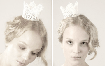 Unique Bridal Hair Accessories & Mini Crowns by Parant