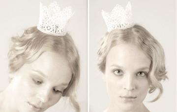 Unique Bridal Hair Accessories & Mini Crowns by Parant
