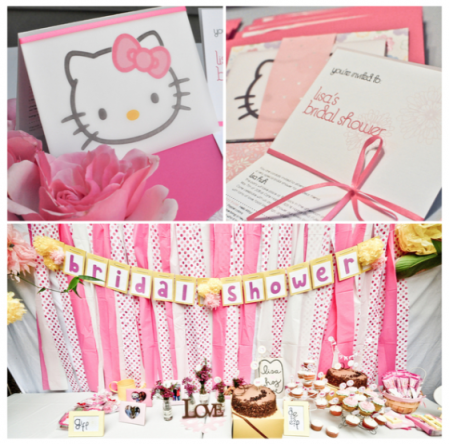 A Very Pink Hello Kitty Bridal Shower Bridal Musings
