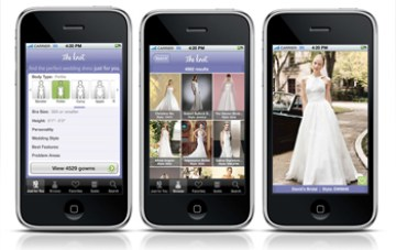 Wedding Geekery: The Knot ~ Wedding Dress Look Book IPhone App