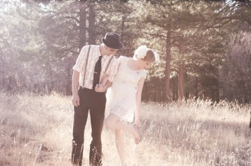whimiscal bride and groom   claire eliza photography