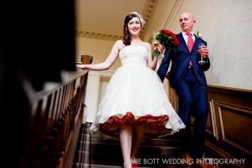 1950's style wedding dress petticoat | jaime bott wedding photography