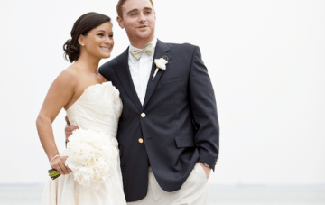 Navy & Yellow Nautical Wedding: Preppy, Classy & Fun {Part 2}