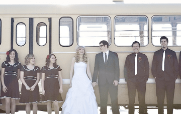 A Classy, Vintage, Music-Inspired, Canadian Wedding {Part 2}