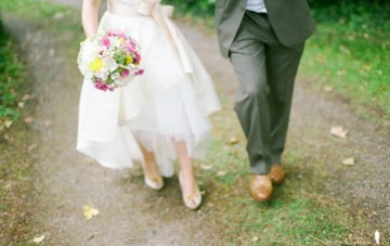 Gorgeously Quirky, Vintage DIY Wedding-Film Photography Part 1
