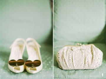 cream wedding shoes and accessories | jean ashton pierre