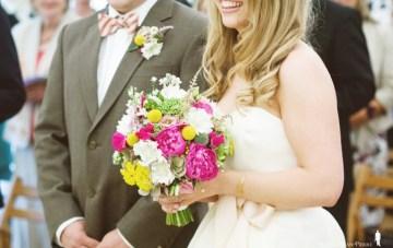 bright wedding bouquet   ashton jean pierre
