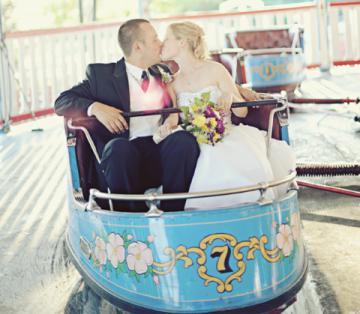 fairground wedding | sarah vaughan photography