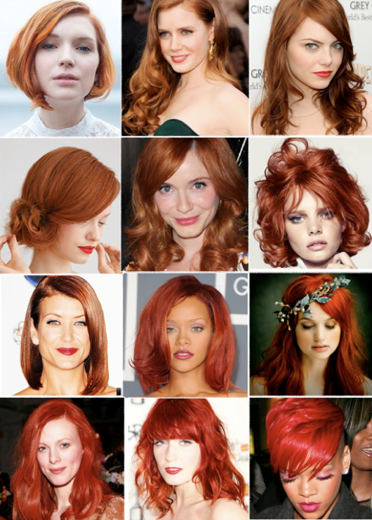 Romantic Wedding Hairstyles Red Hair