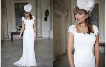 Elegant Alternatives To Strapless Wedding Dresses: Beverly Lister 2012 Collection