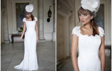 Elegant Alternatives To Strapless Wedding Dresses: Beverly Lister 2012 Collection