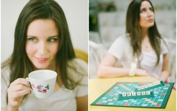 Scrabble, Mac & Tea: My Photo Shoot With Ashton Jean Pierre