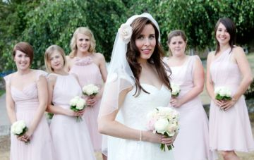 Elizabeth | Bridal Musings | mismatched bridesmaids