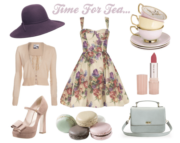 Tea Party Bridal Shower Inspiration Ideas