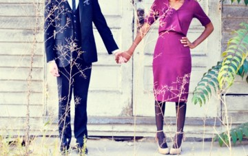 A Boho Chic + Vintage Chic Engagement Shoot
