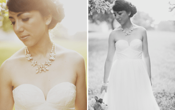 statement necklace wedding | luke eshleman photography