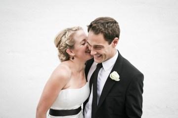 chic bride and groom | amanda thomsen photography