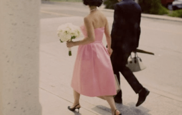 Classic Black, Candy Pink And Polka Dots Wedding Inspiration