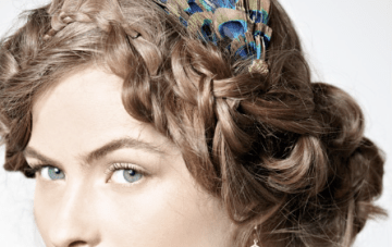 Vintage, Boho & Classic Hair Inspiration & How Tos From BHLDN
