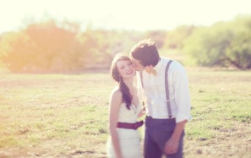 Playful Newlywed Shoot Full Of Soft, Dreamy Texan Sunshine