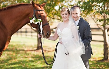 Chic & Classy Equestrian Themed Kentucky Wedding