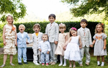 The Complete Guide To Having Children At Your Wedding