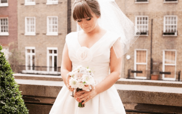 Vintage London Wedding: City Chic Pastel Perfection