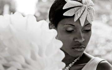 A Pure White Wedding Inspiration Shoot & A Beautiful Tattooed Bride
