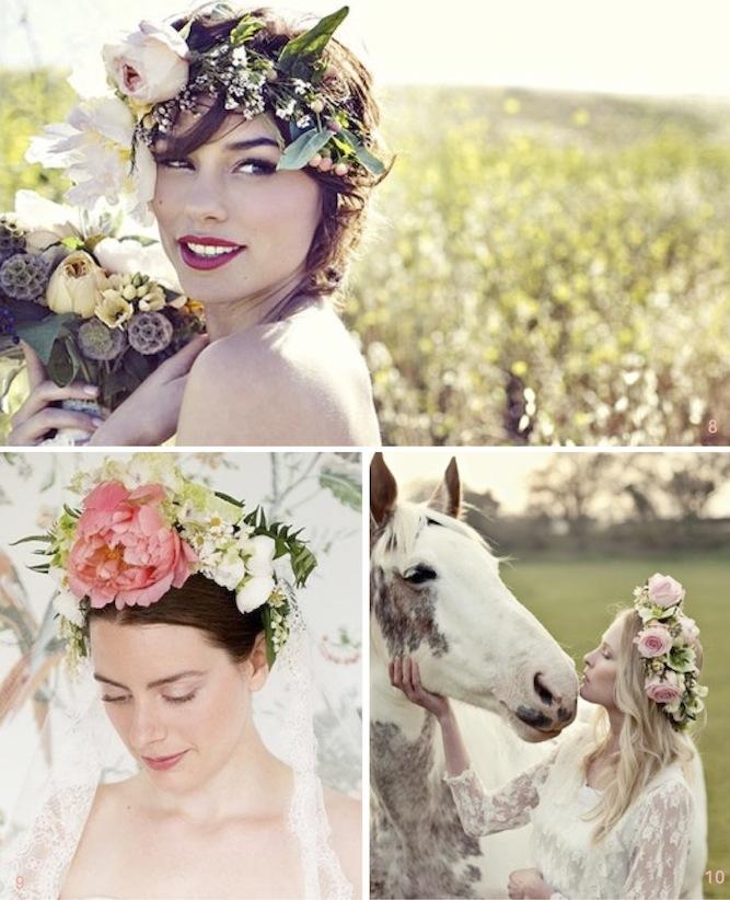 30 Beautiful Boho Flower Crowns Diy Tutorials