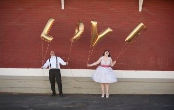 Sweet & Playful 'Up' Inspired Anniversary Shoot