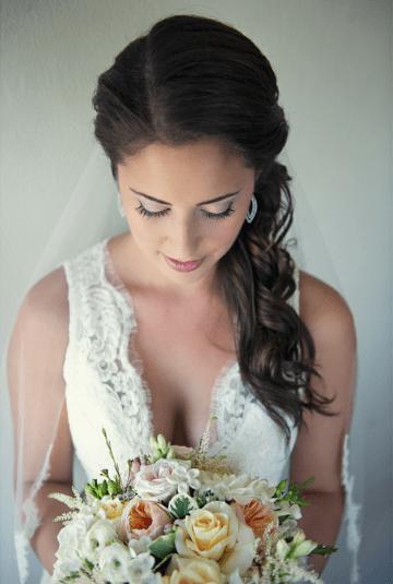 Romantic, Pastel Hued, Beach Chic Wedding | Carla Ten Eyck (1)