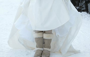 Would You Wear UGG Boots At Your Wedding?