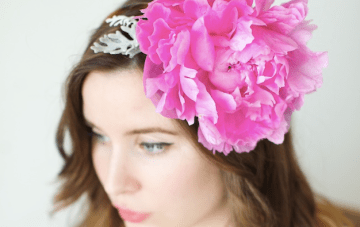 Floral DIY: How To Make A Gorgeous Real Flower Headband