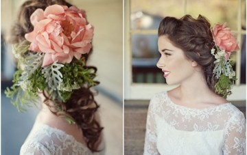 Vintage Wedding Dresses & Colourful Floral Accessories | Love Life Studios 24