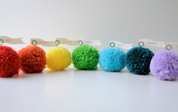 Yarn Pom Poms: BUY or DIY?