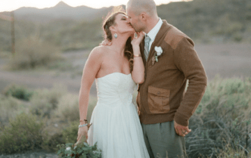 Beautiful Southwest Style Desert Elopement