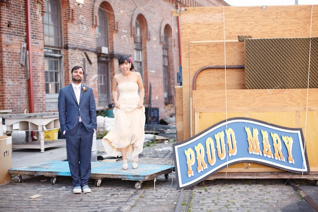 Unique Nautical Chic Navy Yard Wedding In Brooklyn