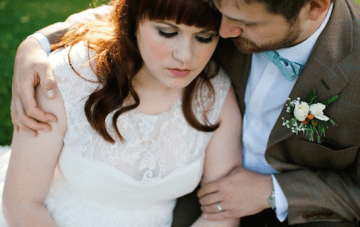 Aqua & Orange Modern Vintage DIY Wedding Part 2