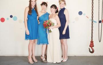 Unique, Nautical Chic Navy Yard Wedding In Brooklyn Part 2
