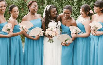 Unique Pink & Blue British, African & Caribbean Wedding (1)