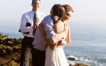California Cliff Top Elopement Film by Imprint Cinema