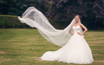 Chic & Unique Music Themed Wedding Swan Lake Bride | Howell Photography 31