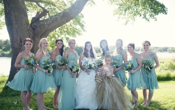sage bridesmaid dresses | carla ten eyck photography