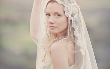 Dreamy Vineyard Bridal Shoot For Silver Sixpence In Her Shoe