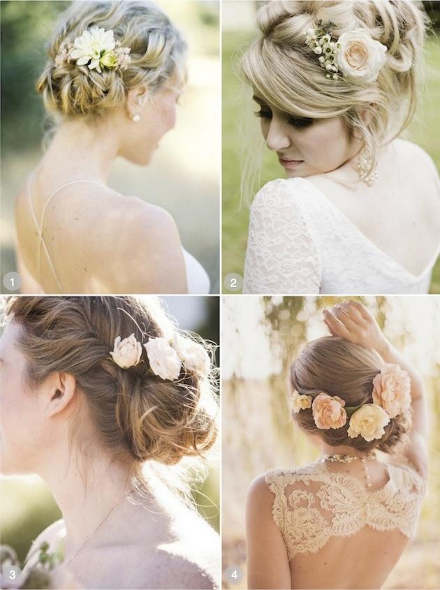 Cool 50 Romantic Wedding Hairstyles Using Flowers Natural Hairstyles Runnerswayorg