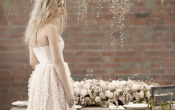 Blush Pink, Romantic & Whimsical Bridal Styled Shoot