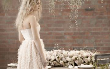Blush Pink, Romantic & Whimsical Bridal Styled Shoot