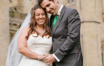 Intimate & Modern Destination Wedding In A Scottish Castle